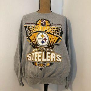 Vintage starter Steelers sweatshirt